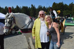 Frank Benlin with Lori