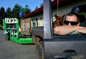 California Cannabis Voice Humboldt (CCVH) truck